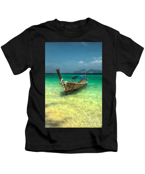 Thai Longboat  Kids T-Shirt