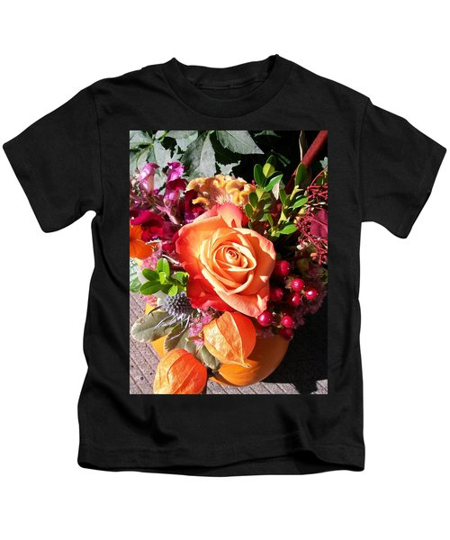 Thanksgiving Bouquet Kids T-Shirt