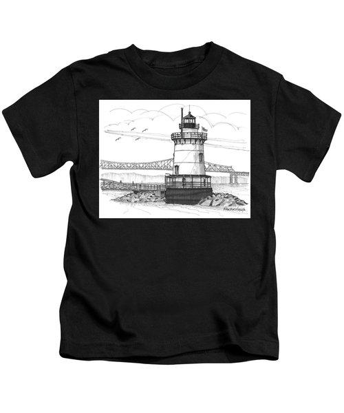 The 1883 Lighthouse At Sleepy Hollow Kids T-Shirt