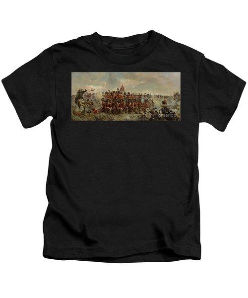 The 28th Regiment At Quatre Bras Kids T-Shirt