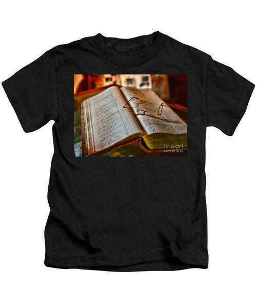 The Accountant's Ledger Kids T-Shirt
