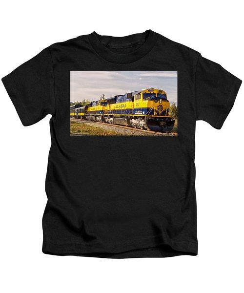 The Alaska Railroad Kids T-Shirt