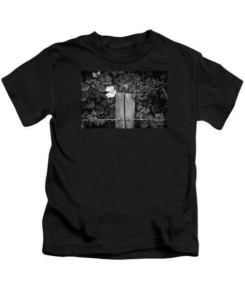 The Allotment Project - Dog Rose Kids T-Shirt