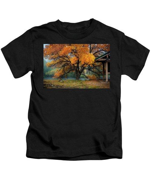 The Autumn Tree Kids T-Shirt