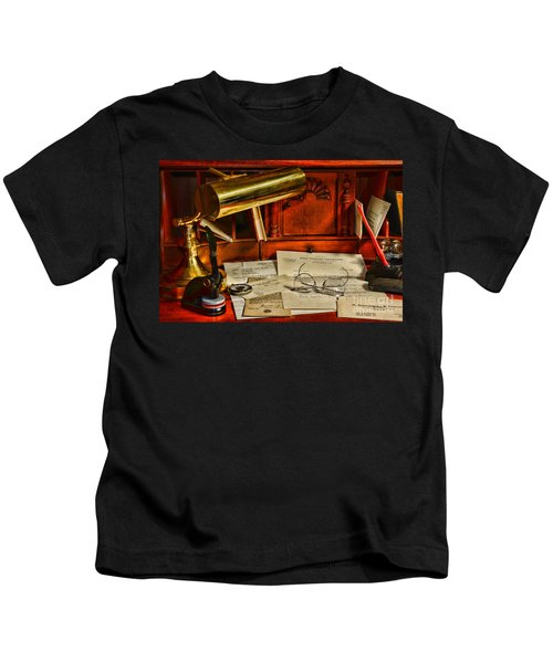 The Bankers Desk Kids T-Shirt
