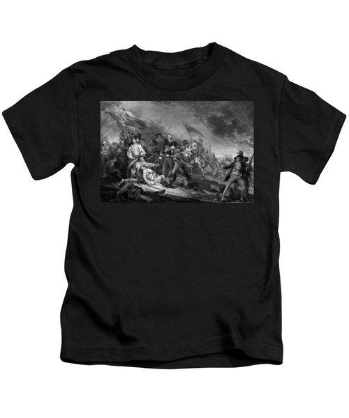 The Battle Of Bunker Hill Kids T-Shirt