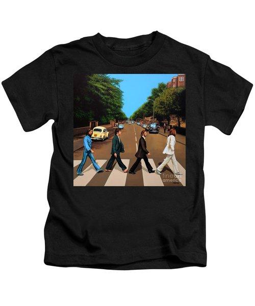 The Beatles Abbey Road Kids T-Shirt