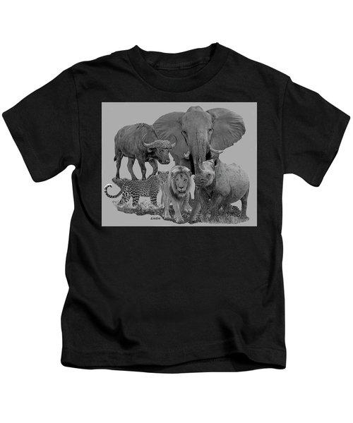 The Big Five Kids T-Shirt