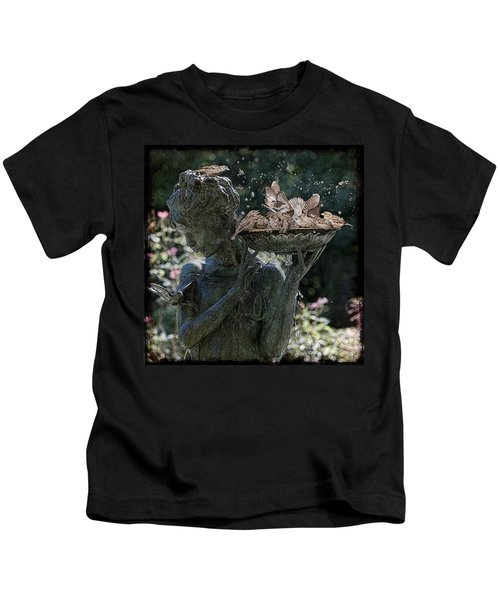The Bird Bath Kids T-Shirt