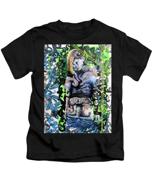 The Blond Bomber  Kids T-Shirt