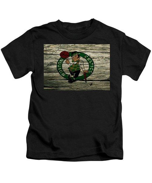The Boston Celtics 2w Kids T-Shirt by Brian Reaves