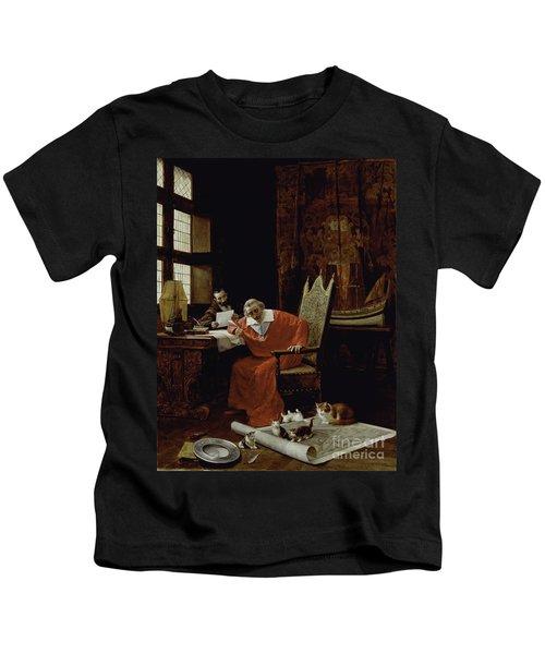 The Cardinal's Leisure  Kids T-Shirt