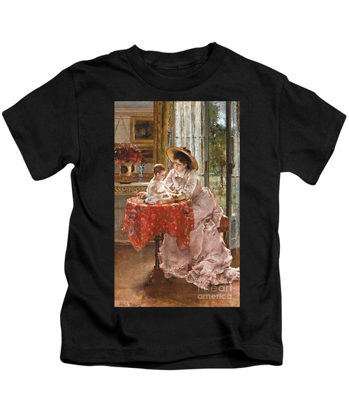 The Contented Mother Kids T-Shirt