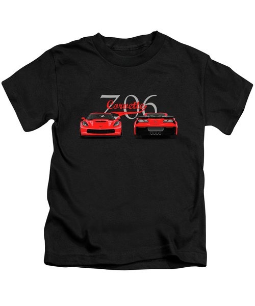 The Corvette Z06 Kids T-Shirt
