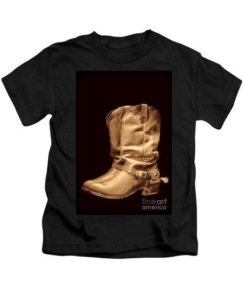 The Cowboy Boots Kids T-Shirt