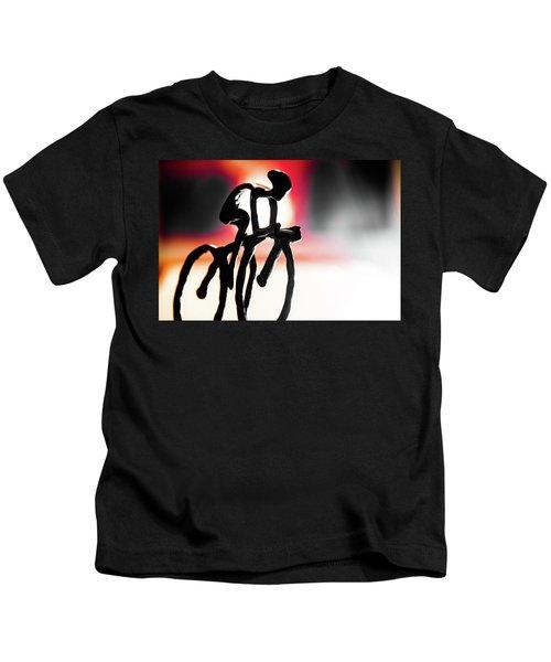 The Cycling Profile  Kids T-Shirt