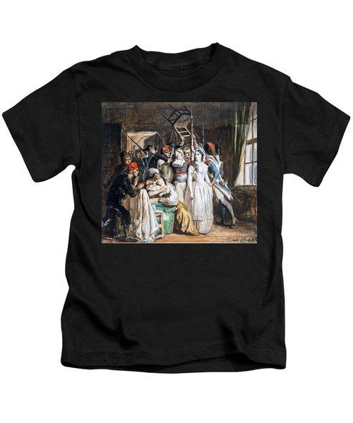 The Death Of Marat Kids T-Shirt