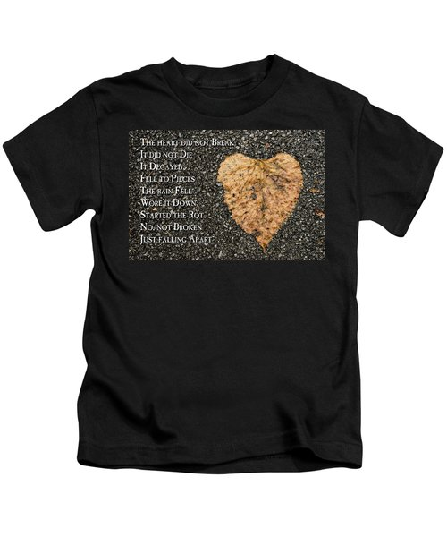 The Decay Of Heart Kids T-Shirt