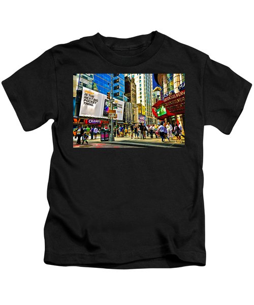The Dirty Old City -nyc Kids T-Shirt