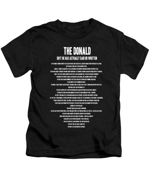 The Donald Kids T-Shirt