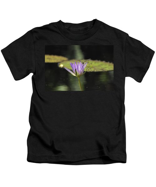 The Dragonfly And The Lily Kids T-Shirt