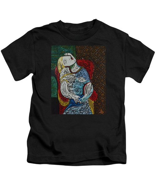 The Dream Walker -le Reve Zombi  Kids T-Shirt