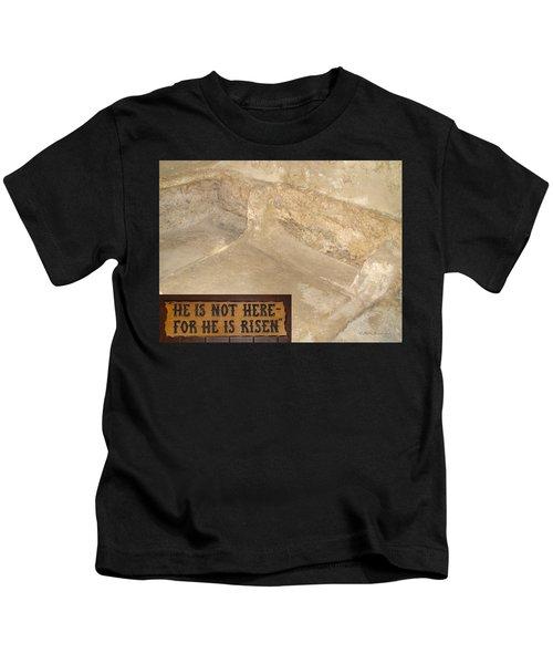 The Empty Tomb Kids T-Shirt