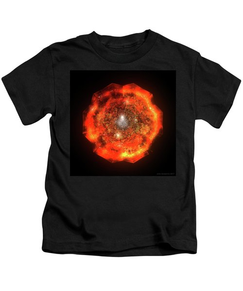 The Eye Of Cyma - Fire And Ice - Frame 146 Kids T-Shirt