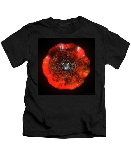 The Eye Of Cyma - Fire And Ice - Frame 40 Kids T-Shirt