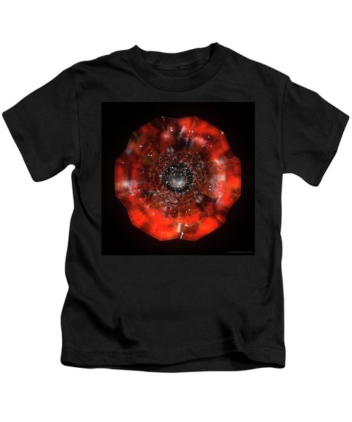 The Eye Of Cyma - Fire And Ice - Frame 45 Kids T-Shirt