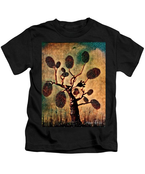 The Fingerprints Of Time Kids T-Shirt