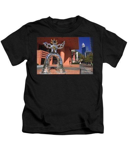 The Firebird At The Bechtler Museum In Charlotte Kids T-Shirt