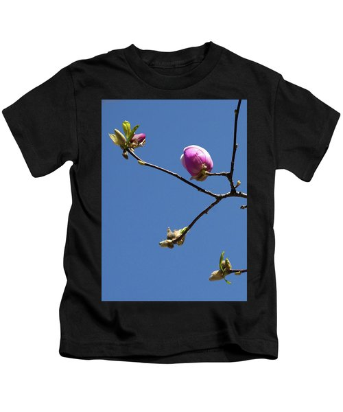 The First To Bloom Kids T-Shirt