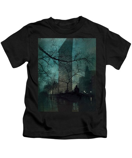The Flatiron Building Kids T-Shirt