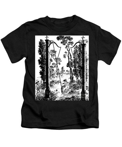 The Garden Swing At Rambouillet Kids T-Shirt