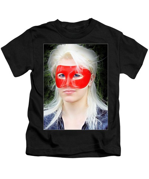 The Gaze Of A Heroine Kids T-Shirt