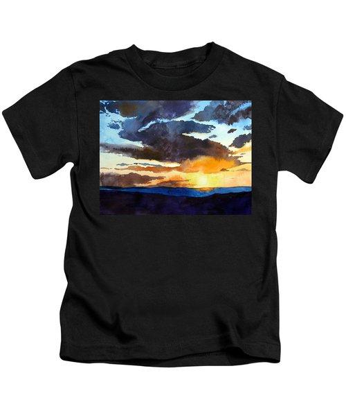 The Glory Of The Sunset Kids T-Shirt