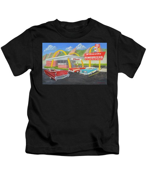 The Golden Age Of The Golden Arches Kids T-Shirt