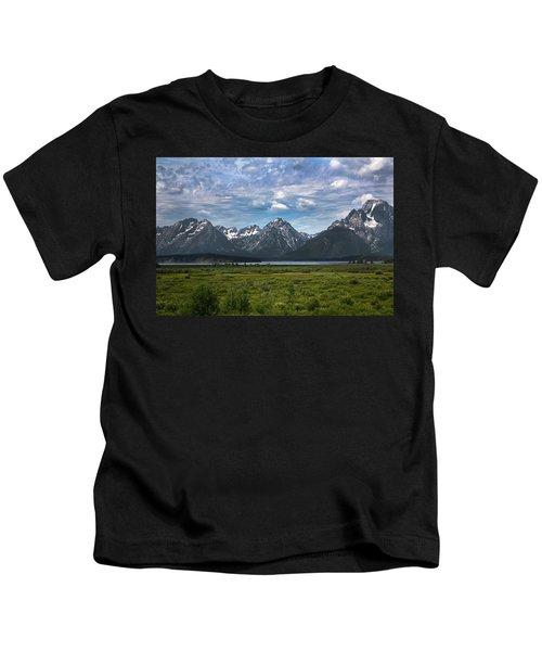 The Grand Tetons Kids T-Shirt