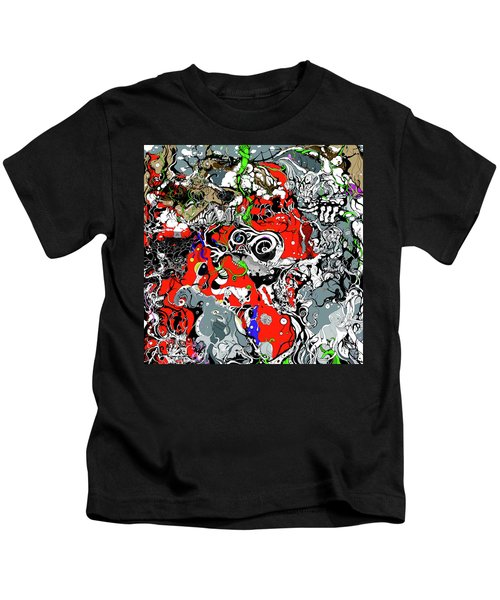 The Grapevine Wall Section 1 Kids T-Shirt