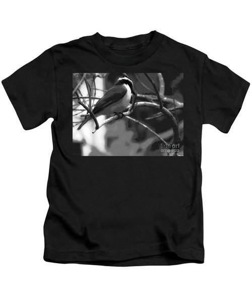 The Great Kiskadee  Kids T-Shirt