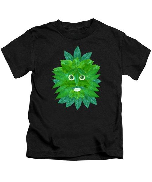 The Green Man Kids T-Shirt