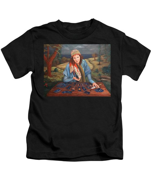 The Gypsy Fortune Teller Kids T-Shirt