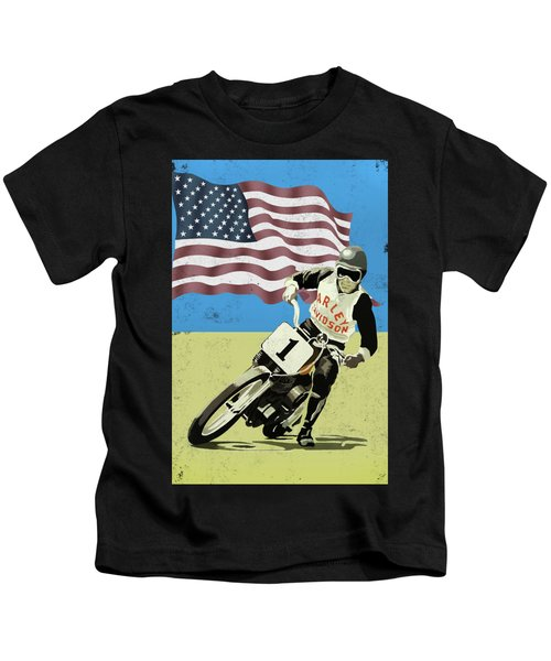 The Harley Competition Motorcycle Kids T-Shirt