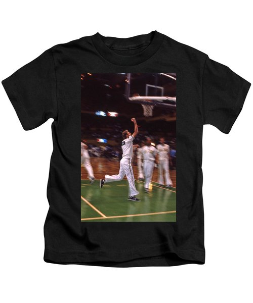 The Hick From French Lick Kids T-Shirt by Mike Martin