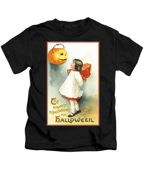 The Highest Expectations For Halloween Kids T-Shirt