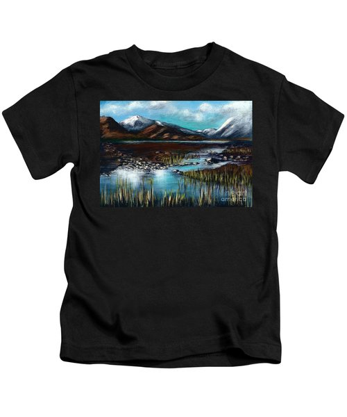 The Highlands - Scotland Kids T-Shirt