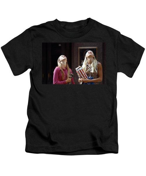 The Ids Neck Crane Kids T-Shirt