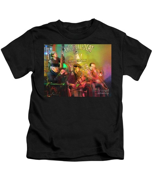 The Jazz Vipers In New Orleans 02 Kids T-Shirt