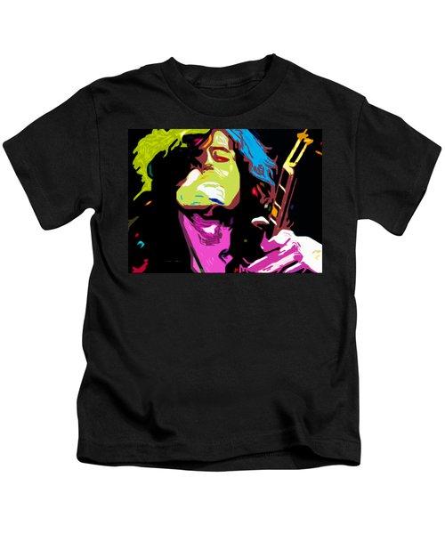 The Jimmy Page By Nixo Kids T-Shirt by Nicholas Nixo